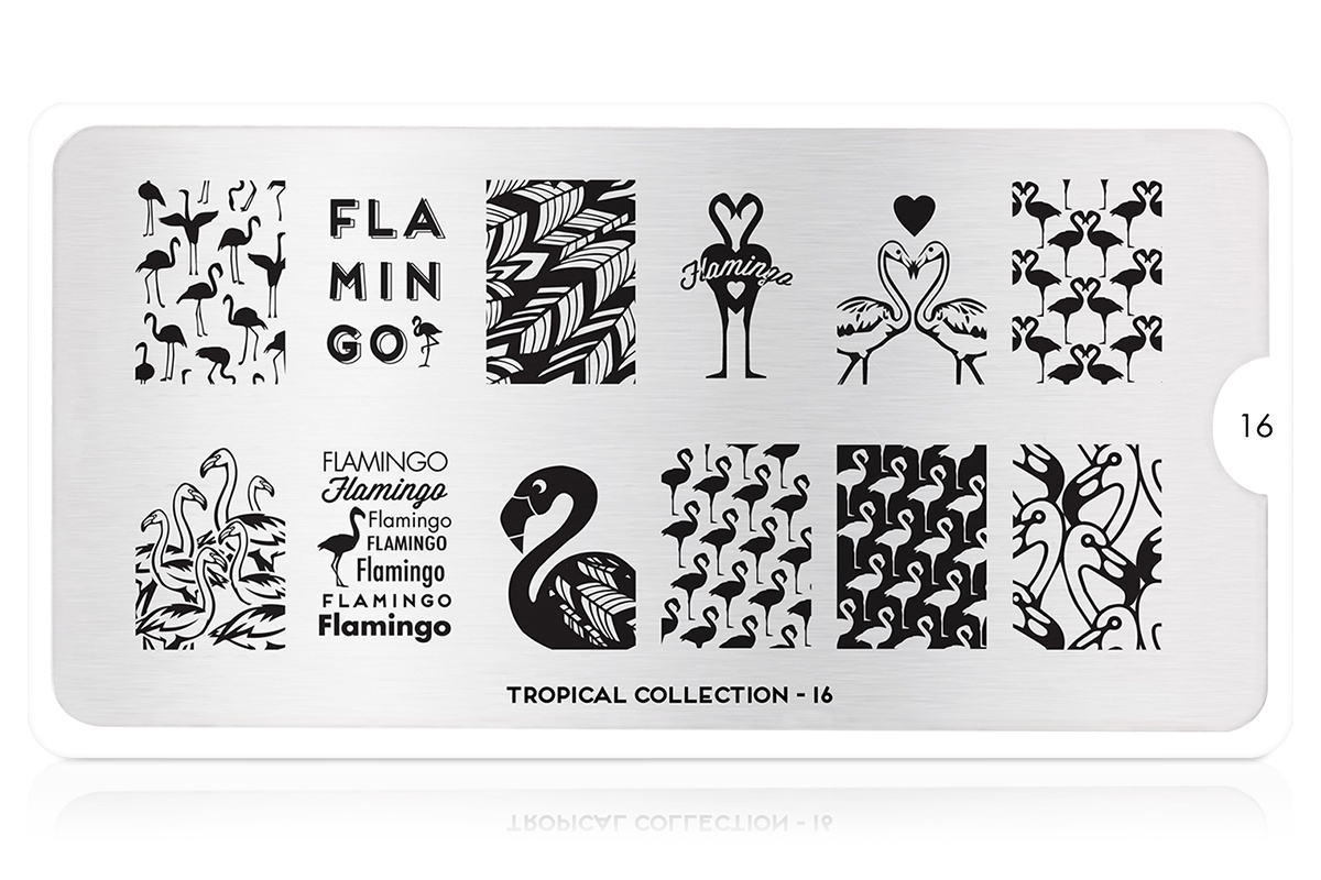 MoYou-London Schablone Tropical Collection 16
