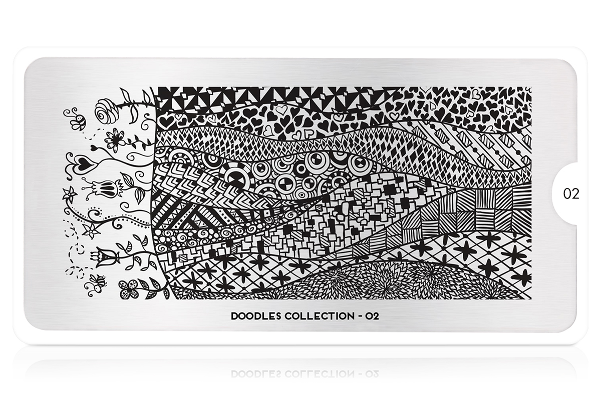 MoYou-London Schablone Doodles Collection 02