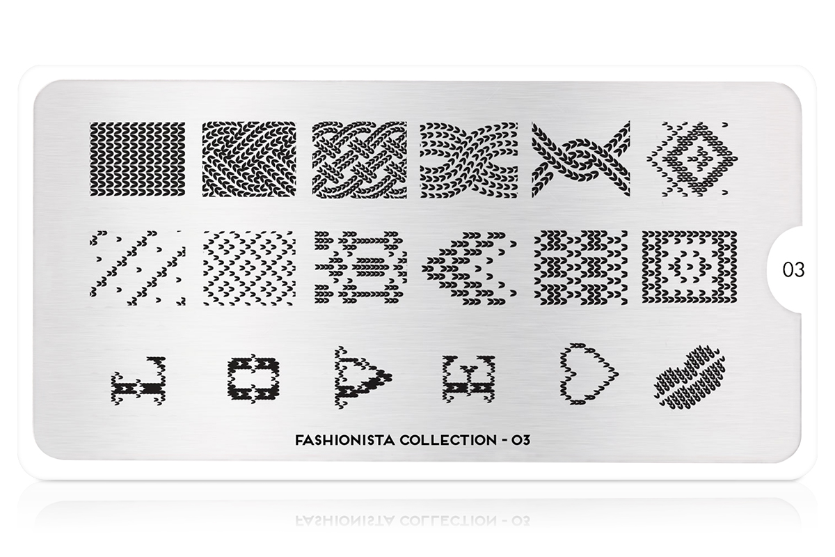MoYou-London Schablone Fashionista Collection 03