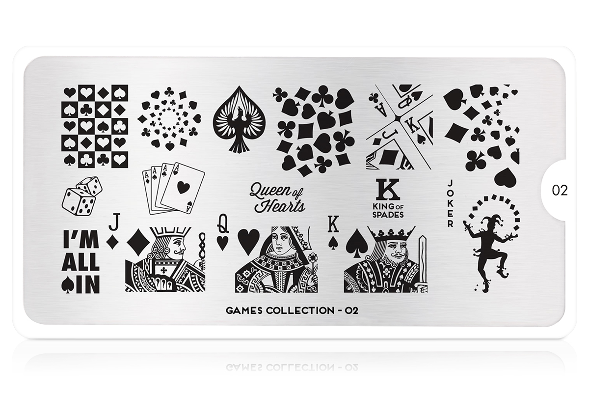 MoYou-London Schablone Games Collection 02