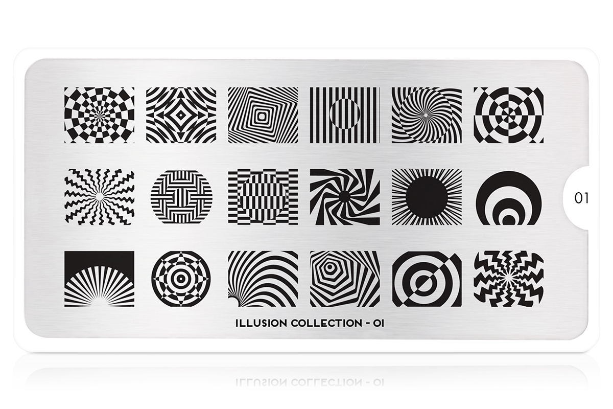MoYou-London Schablone Illusion Collection 01