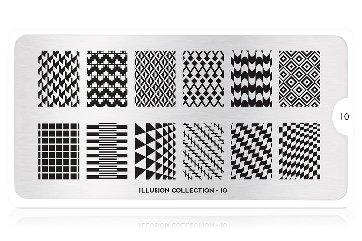 MoYou-London Schablone Illusion Collection 10