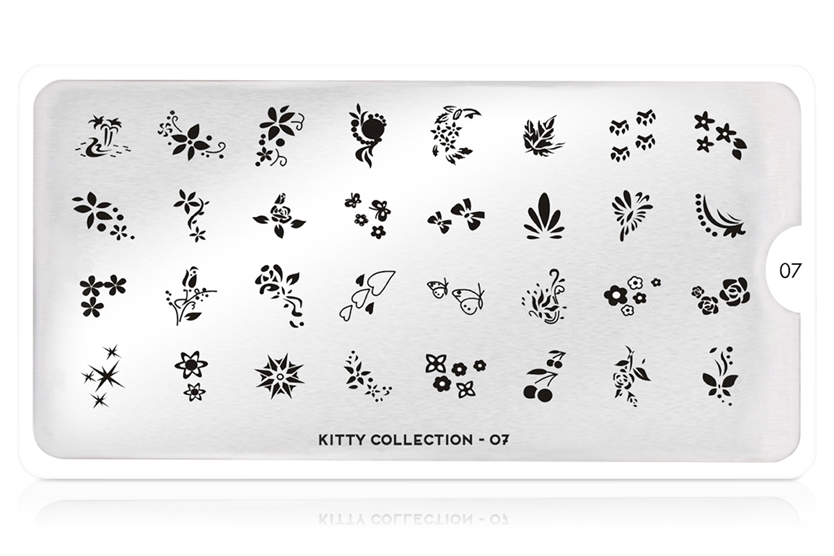 MoYou-London Schablone Kitty Collection 07