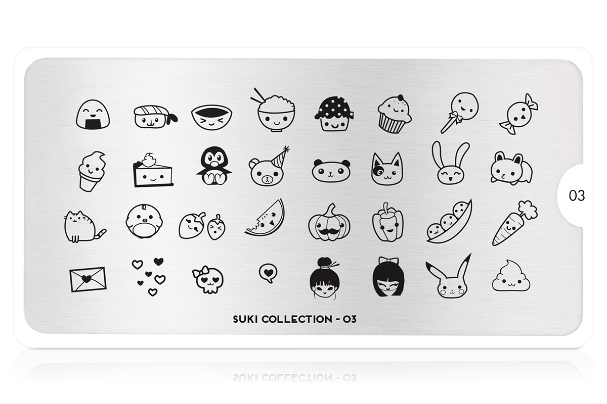MoYou-London Schablone Suki Collection 03
