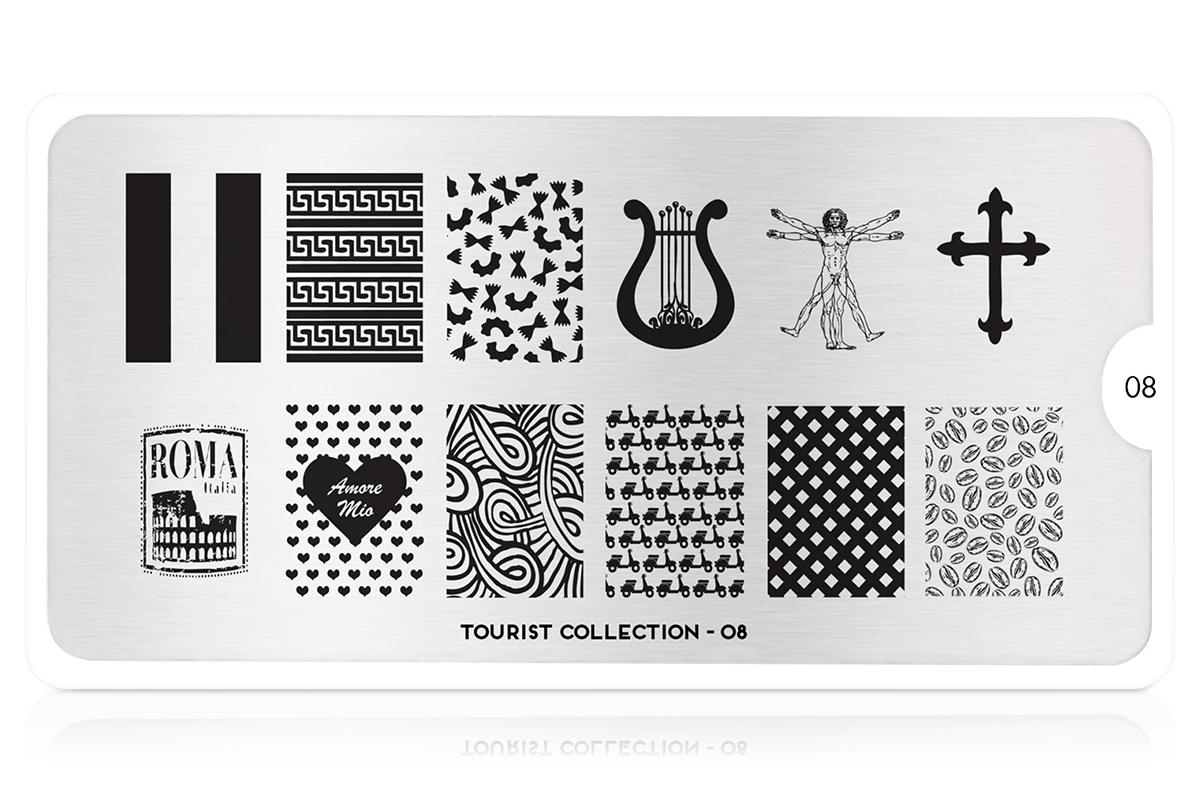 MoYou-London Schablone Tourist Collection 08