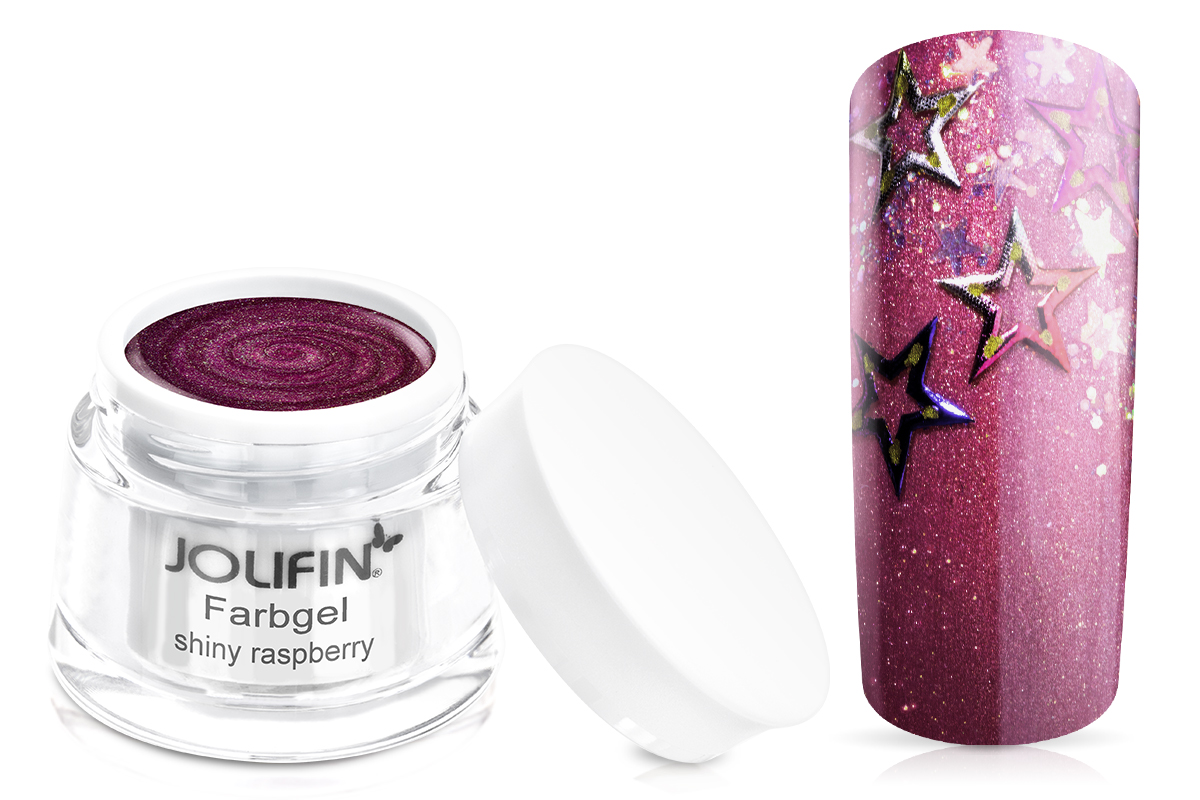 Jolifin Farbgel shiny raspberry 5ml