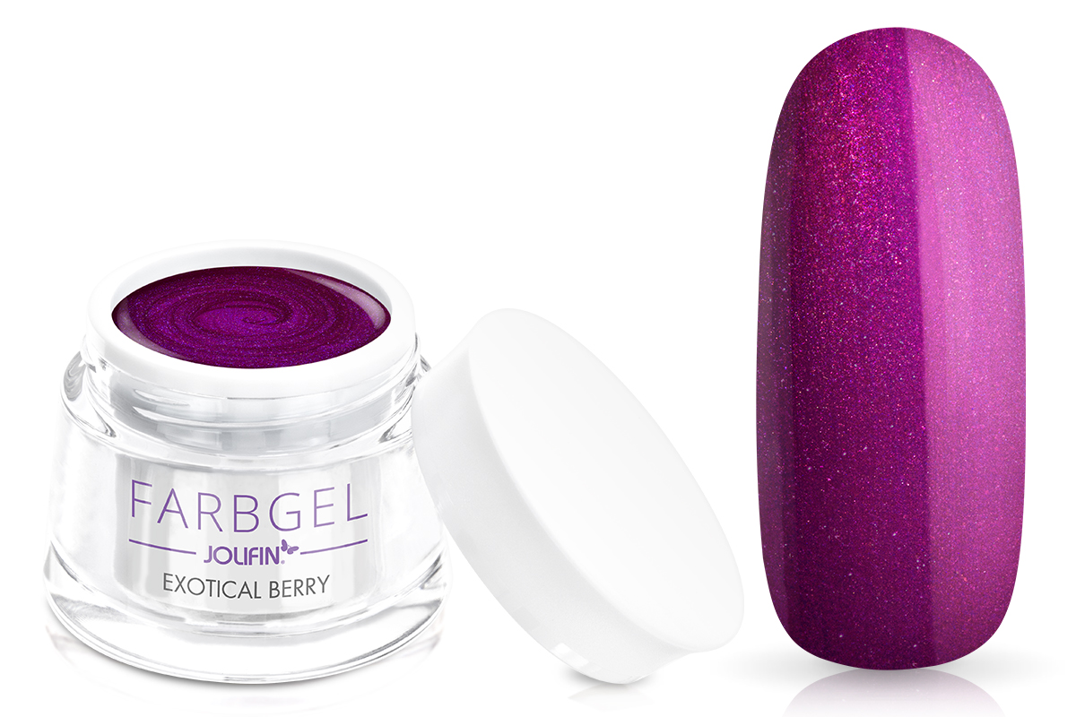 Jolifin Farbgel exotical berry 5ml
