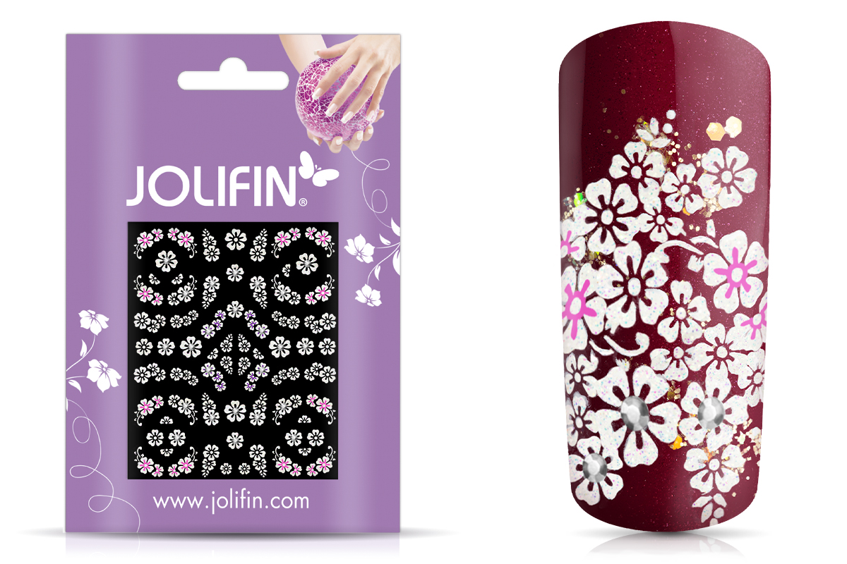 Jolifin Nailart Wedding Sticker Nr. 37