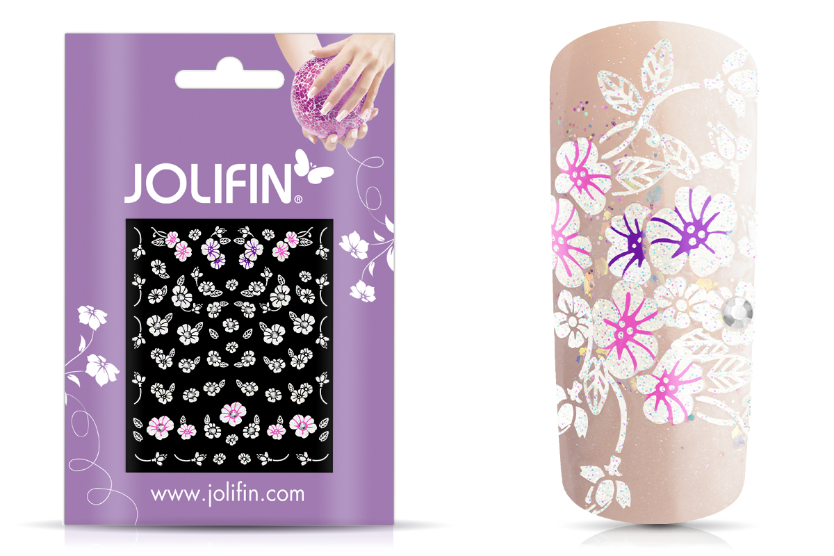 Jolifin Nailart Wedding Sticker Nr. 40