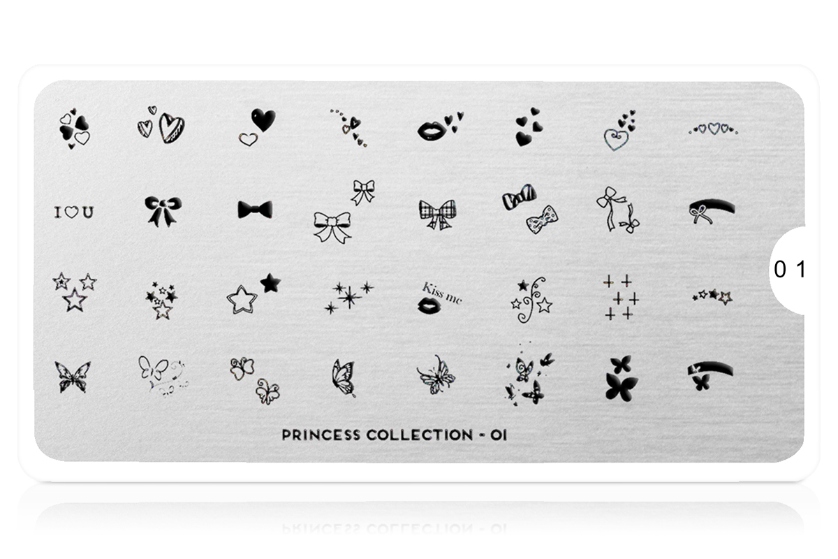 MoYou-London Schablone Princess Collection 01