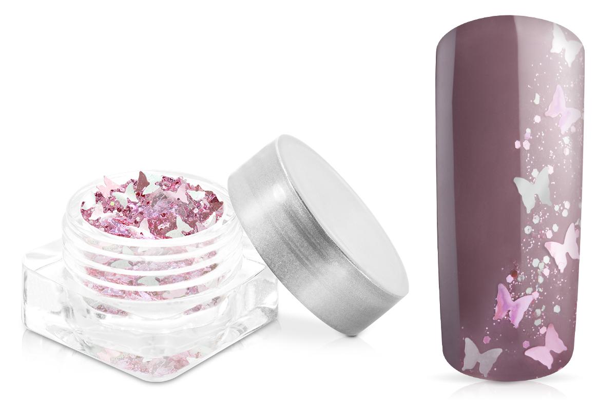 Jolifin Fantasy Glitter rosy-silver