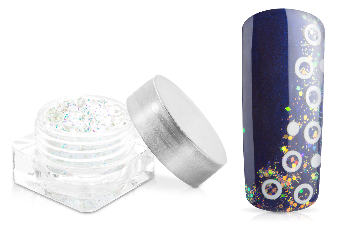 Jolifin Fantasy Glitter crystal-white