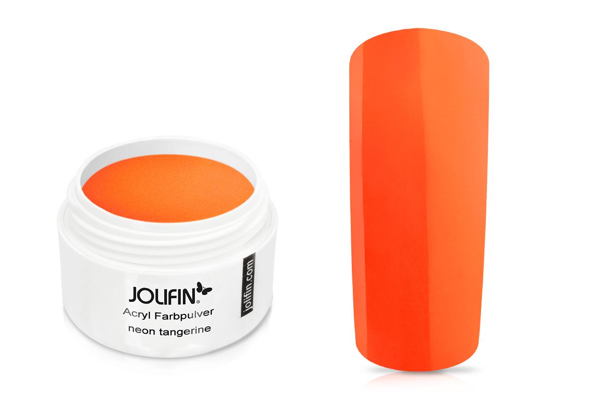 Jolifin Acryl Farbpulver neon tangerine 5g