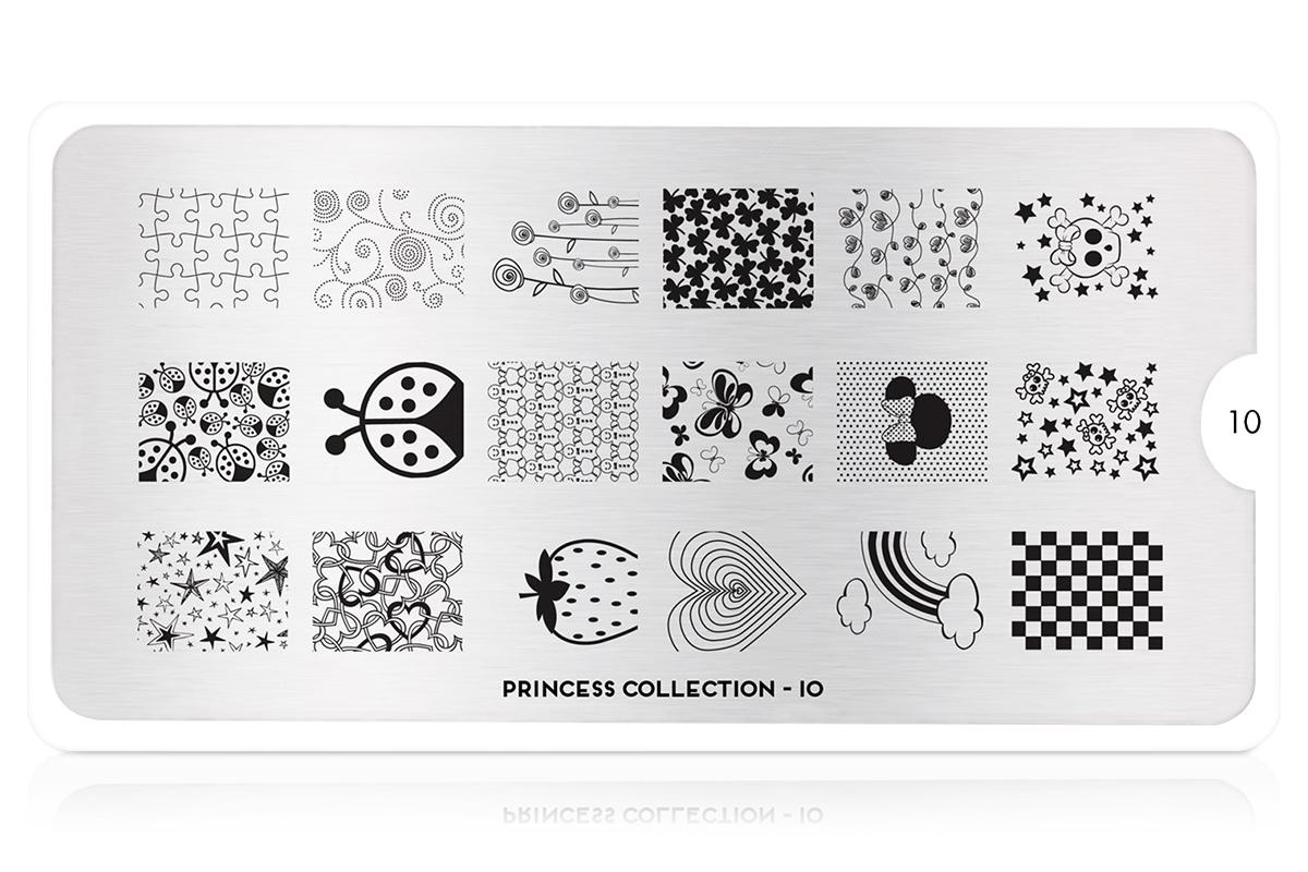 MoYou-London Schablone Princess Collection 10