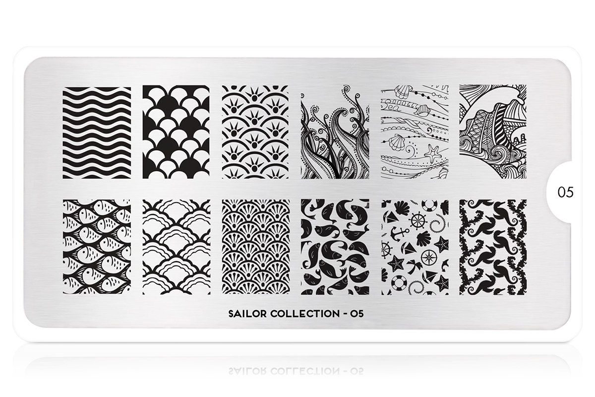 MoYou-London Schablone Sailor Collection 05