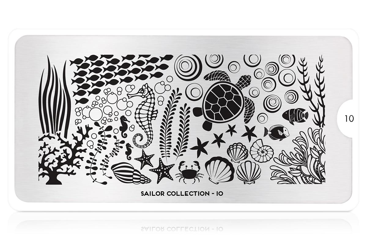 MoYou-London Schablone Sailor Collection 10