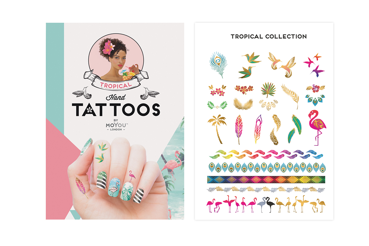 MoYou-London Tropical Handtattoos colour 01