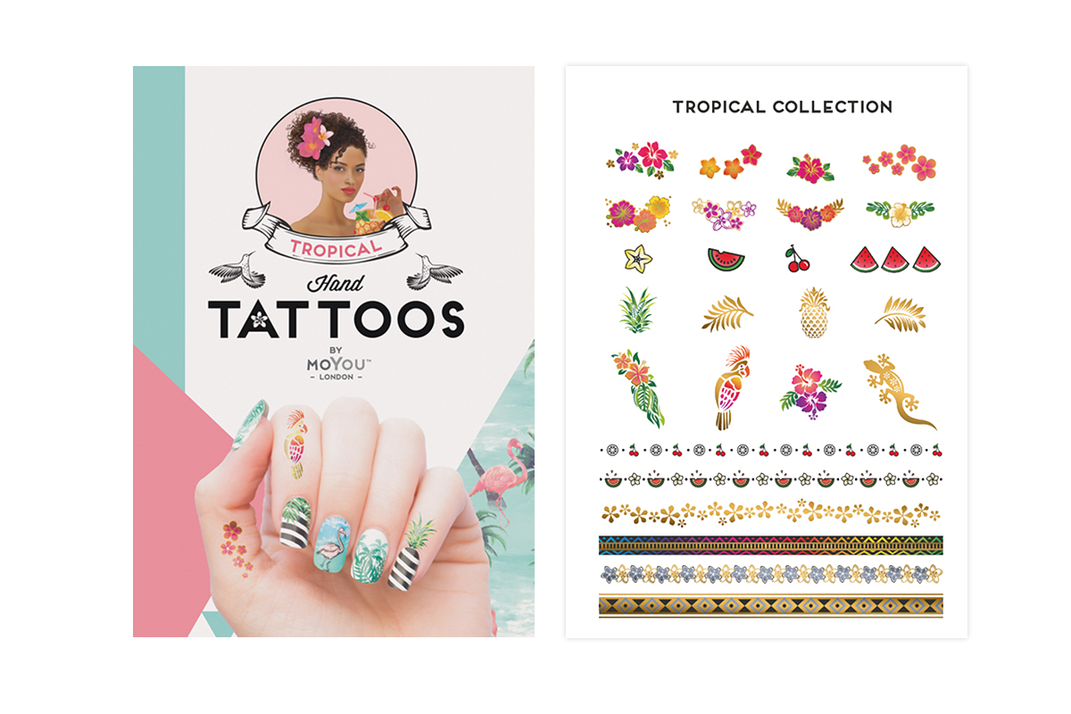 MoYou-London Tropical Handtattoos colour 02