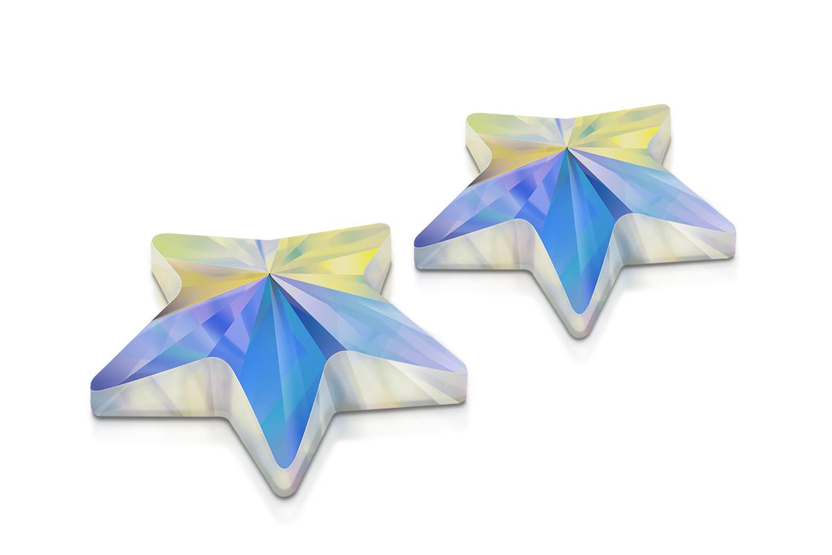 Swarovski Strassstein Star Crystal irisierend