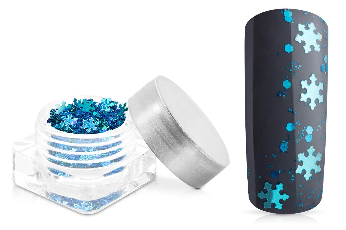 Jolifin Snowflake Glitter - türkis