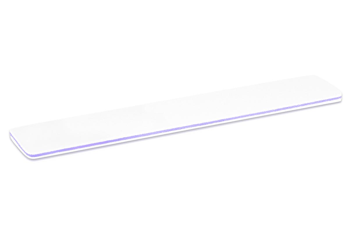 Jolifin Feile extra-breit weiß 120/240