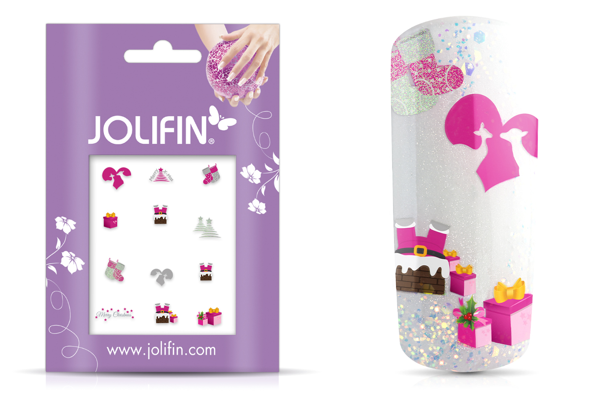Jolifin Christmas Glitter Tattoo 17