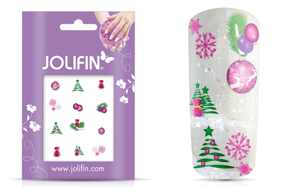 Jolifin Christmas Glitter Tattoo 18