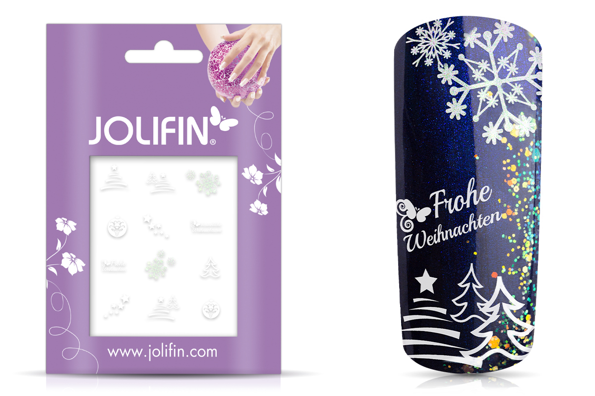 Jolifin Christmas Glitter Tattoo 19