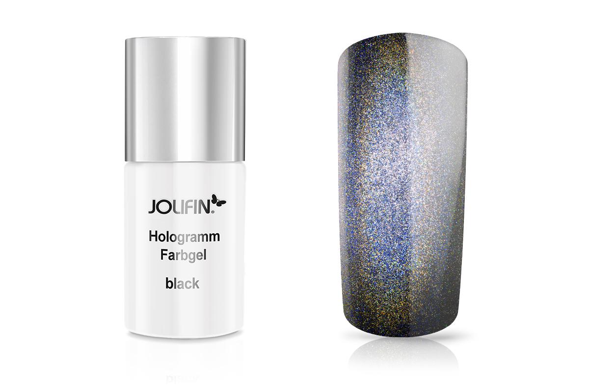 Jolifin Carbon Hologramm Quick-Farbgel black 11ml