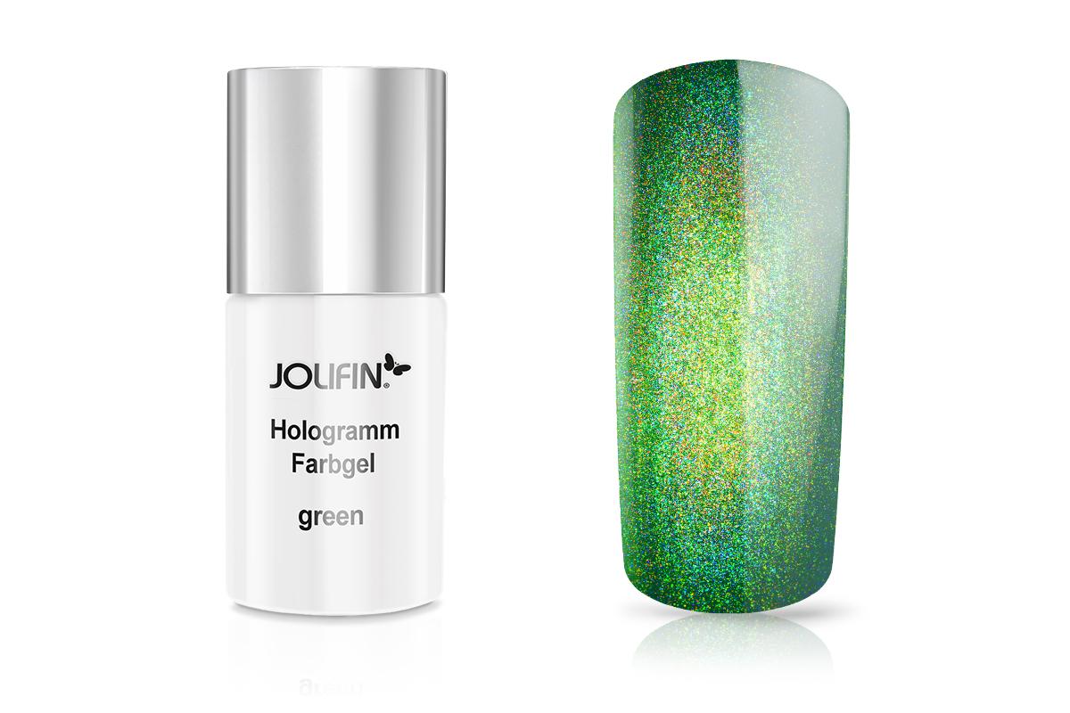 Jolifin Carbon Hologramm Quick-Farbgel green 11 ml