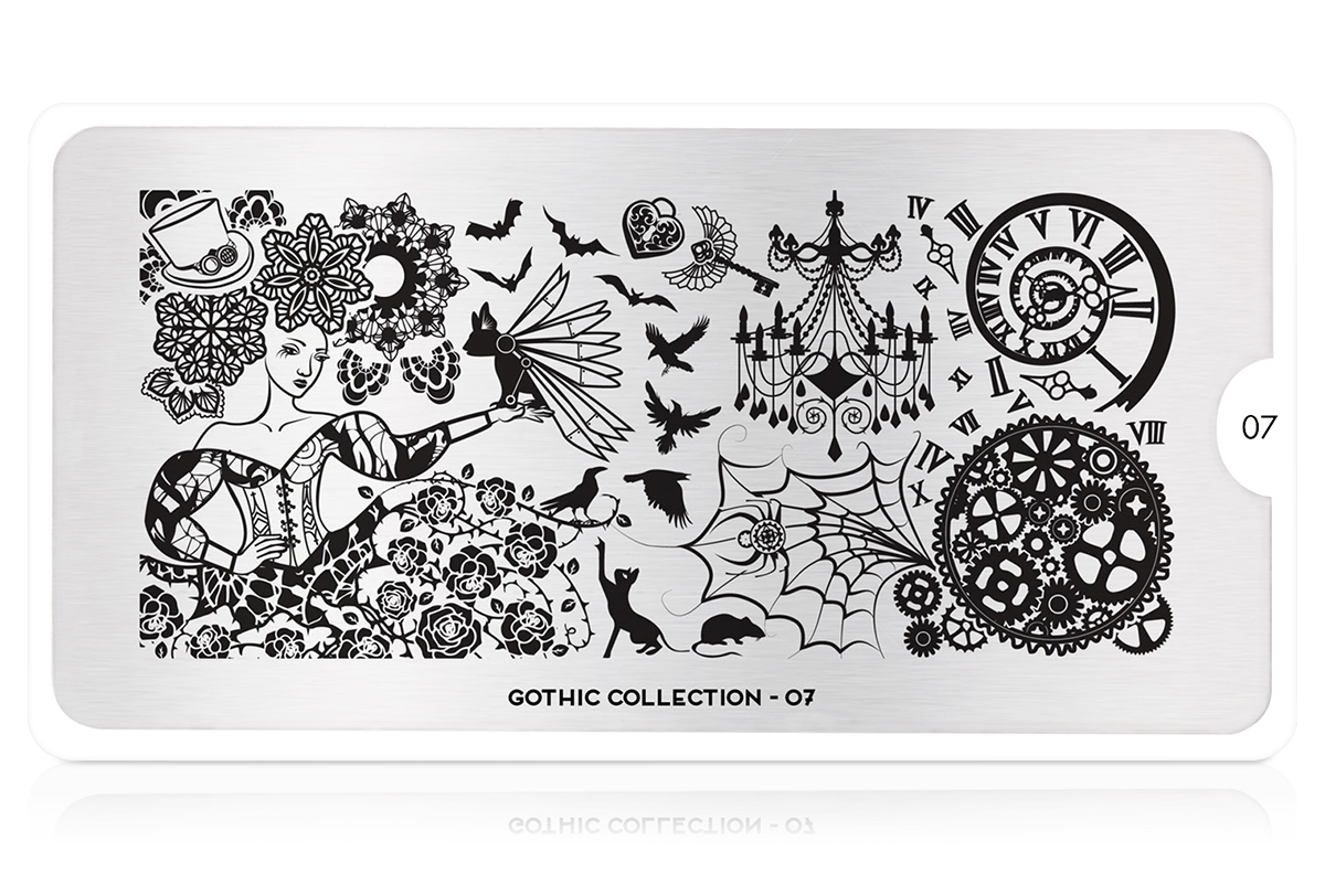 MoYou-London Schablone Gothic Collection 07