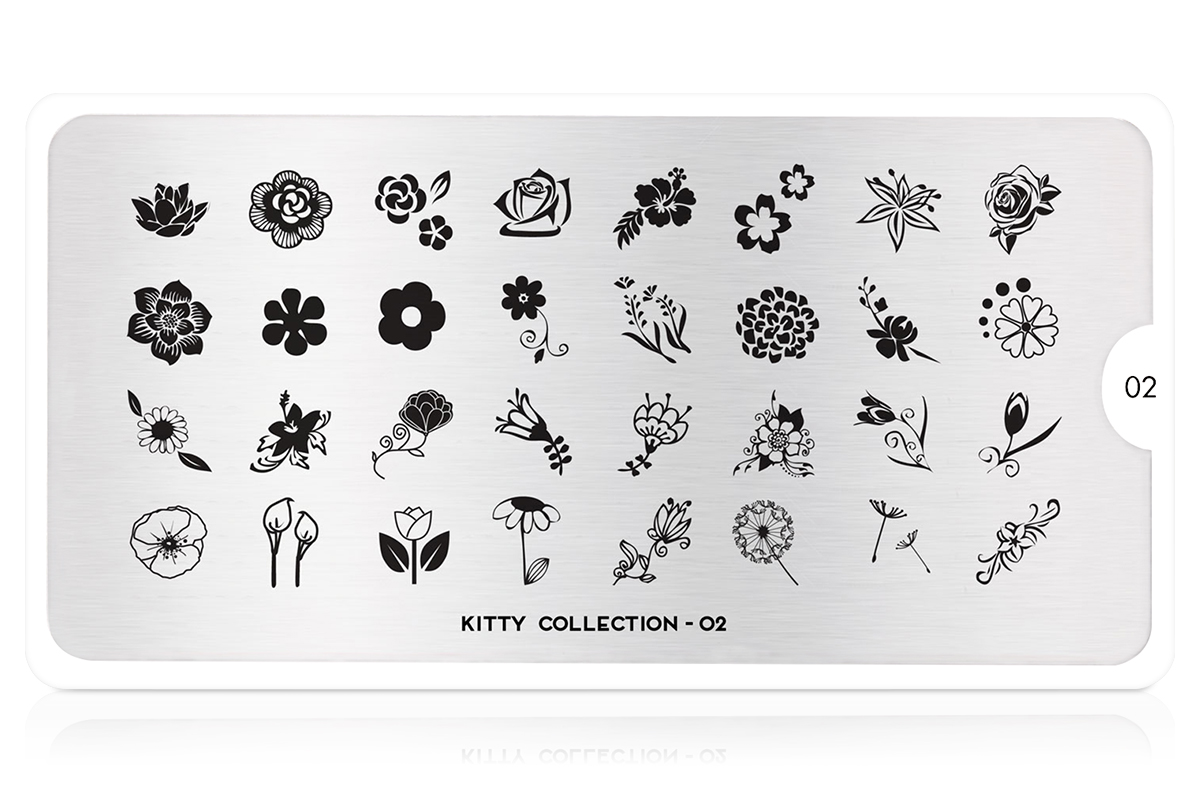 MoYou-London Schablone Kitty Collection 02