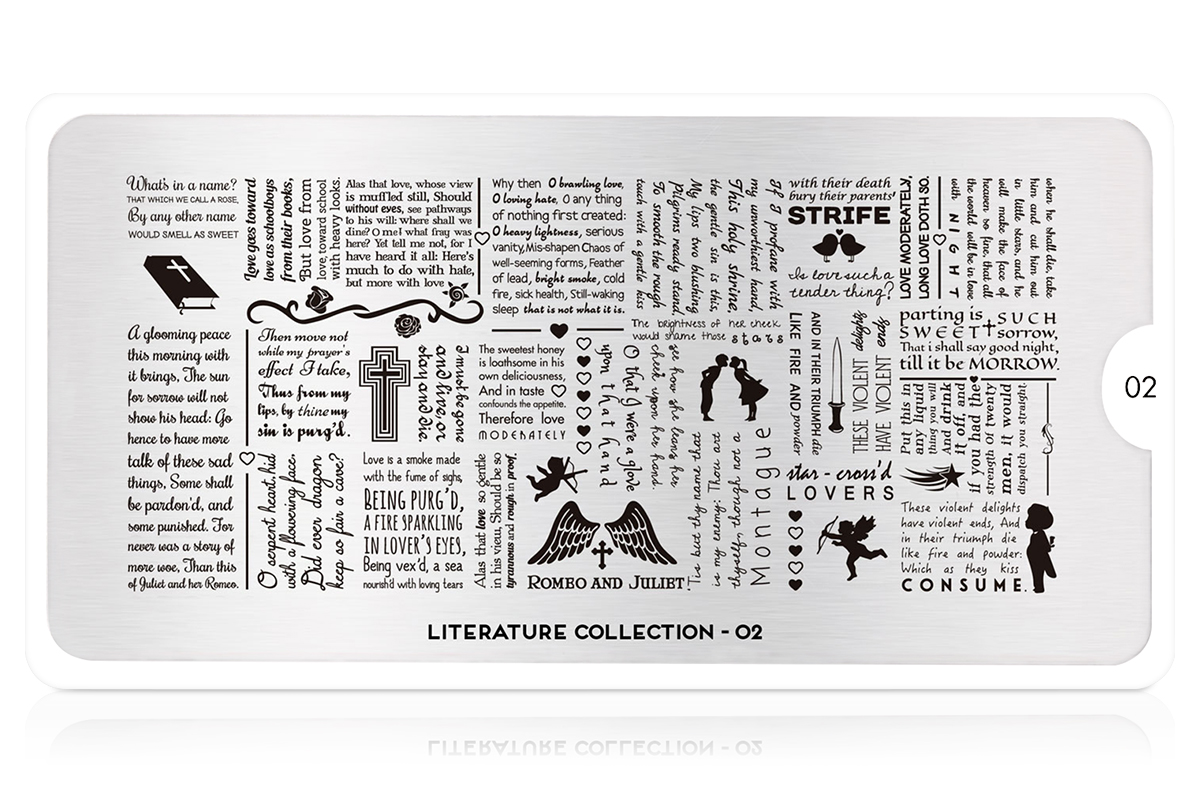 MoYou-London Schablone Literature Collection 02