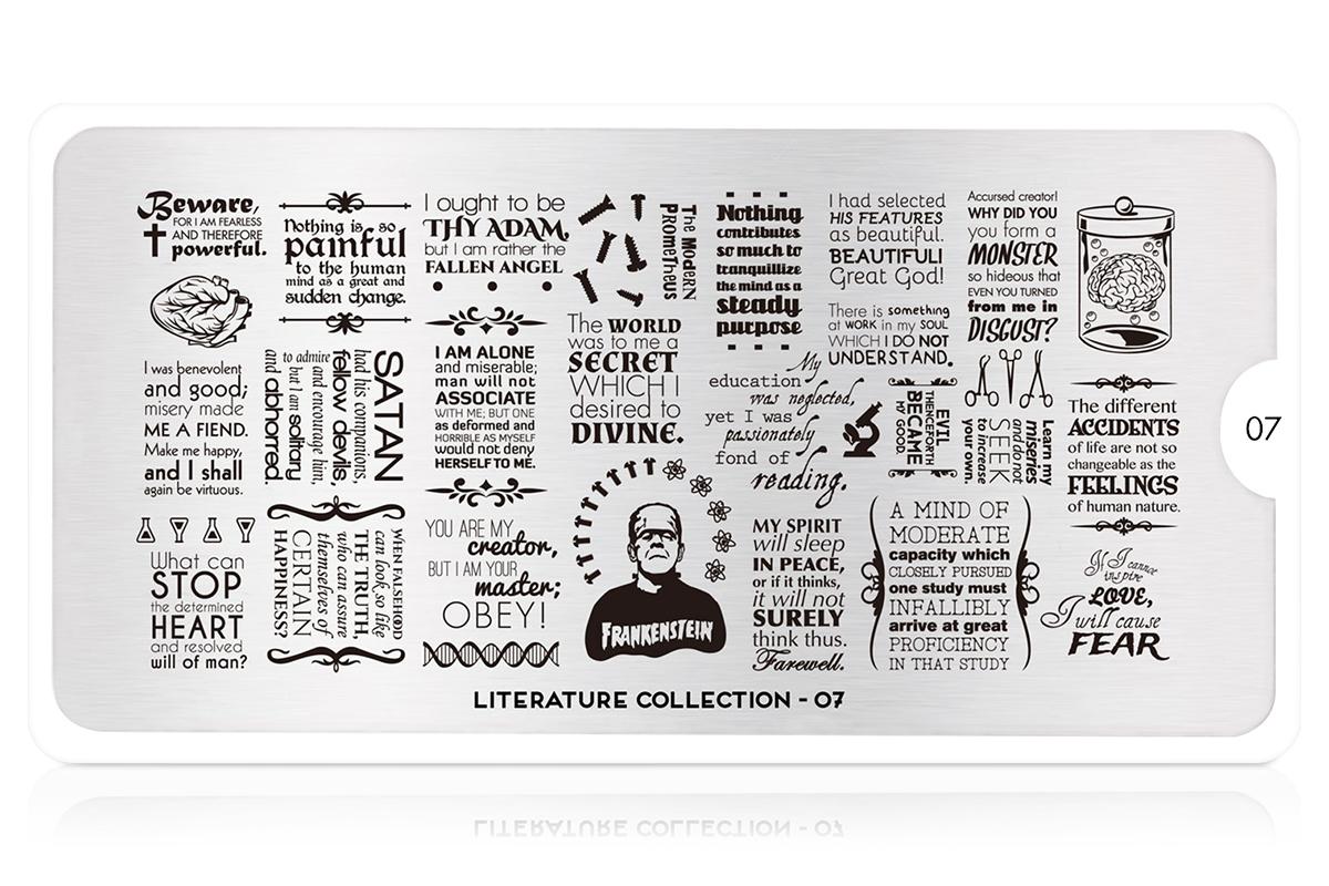 MoYou-London Schablone Literature Collection 07