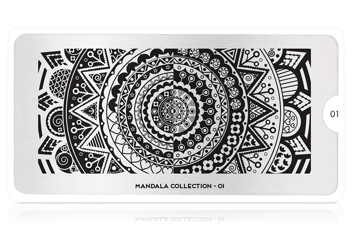 MoYou-London Schablone Mandala Collection 01