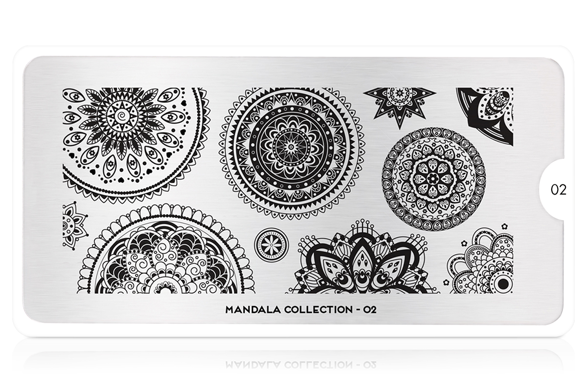 MoYou-London Schablone Mandala Collection 02