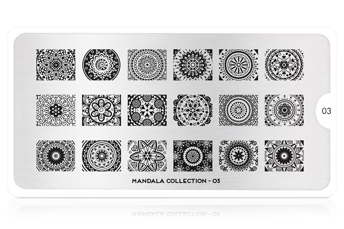 MoYou-London Schablone Mandala Collection 03