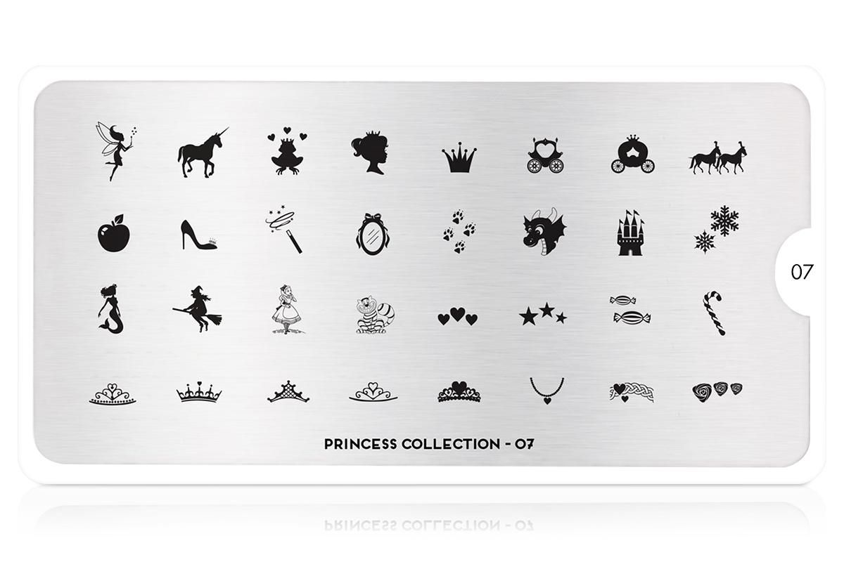 MoYou-London Schablone Princess Collection 07