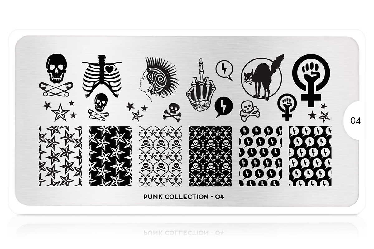 MoYou-London Schablone Punk Collection 04