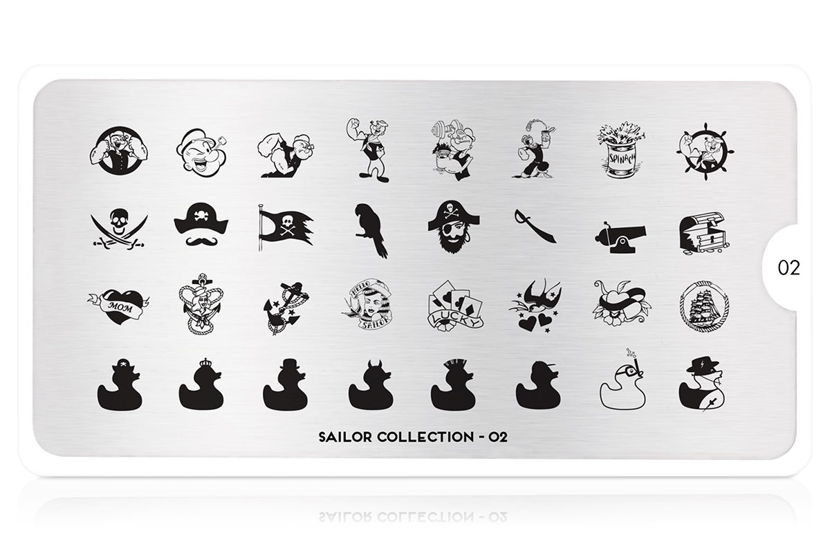 MoYou-London Schablone Sailor Collection 02