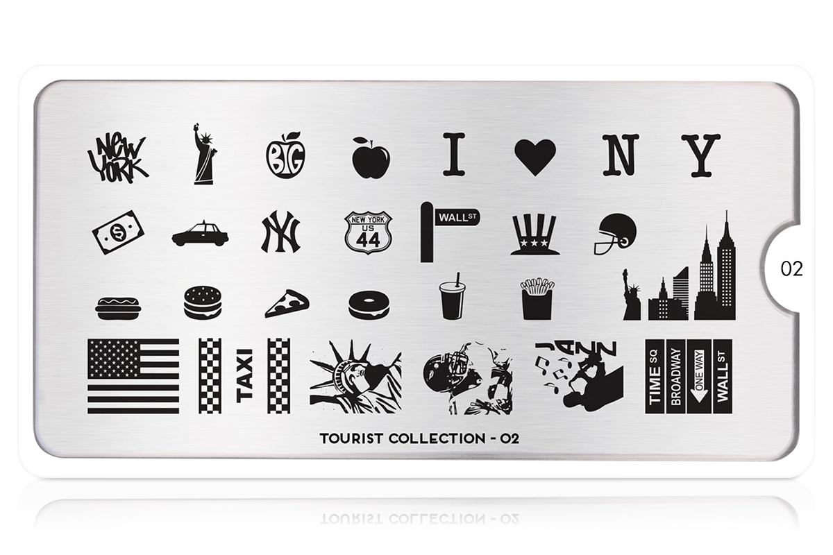 MoYou-London Schablone Tourist Collection 02