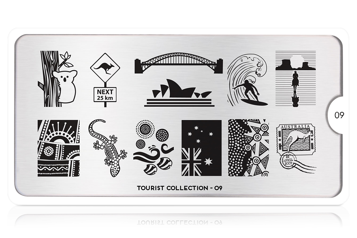 MoYou-London Schablone Tourist Collection 09