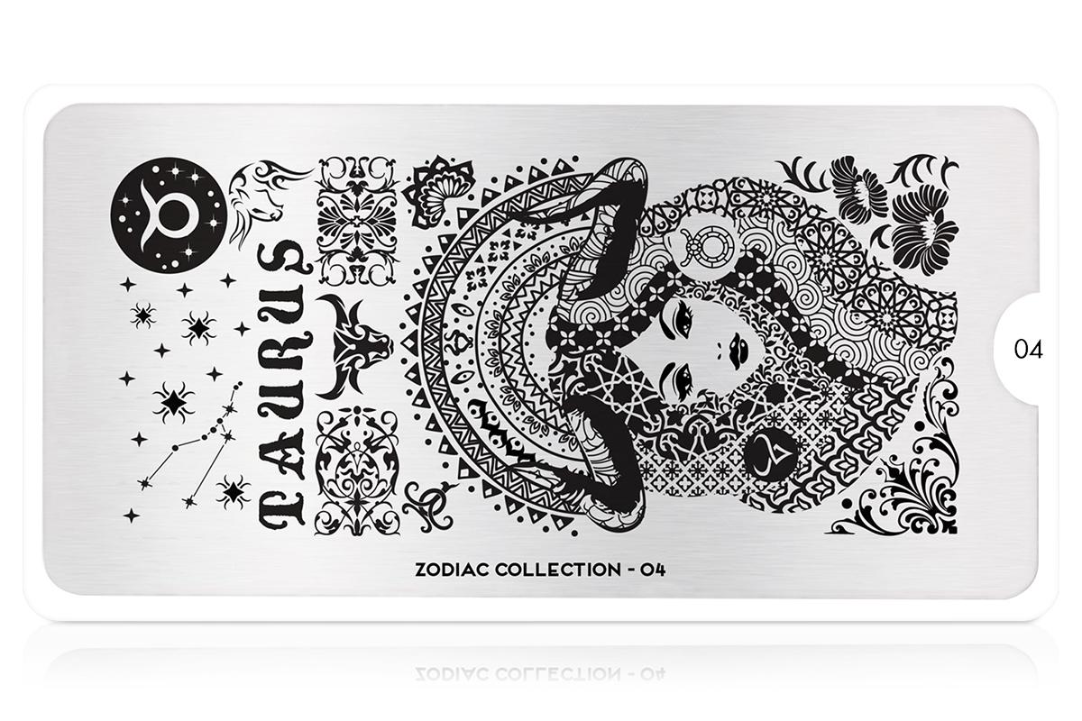 MoYou-London Schablone Zodiac Collection 04