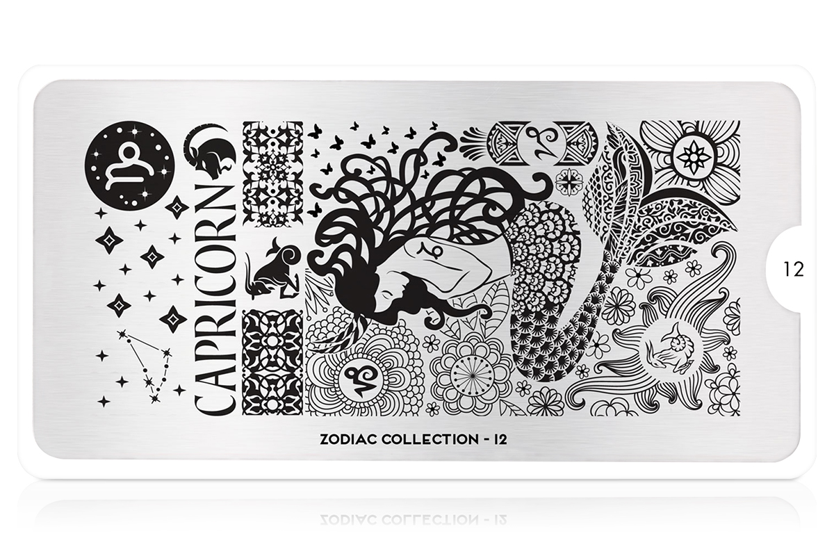 MoYou-London Schablone Zodiac Collection 12