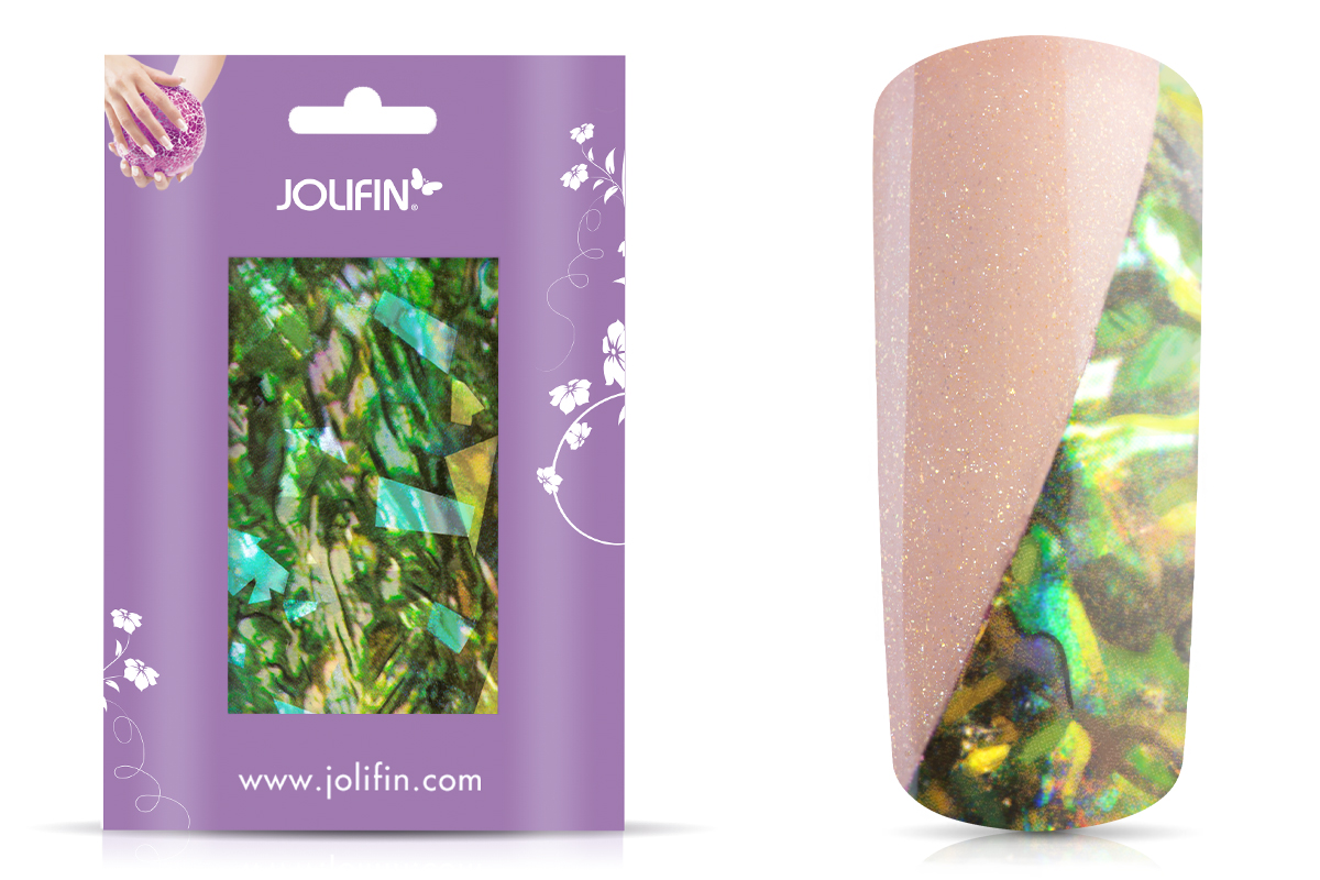 Jolifin Nailart Seashell Sticker 2