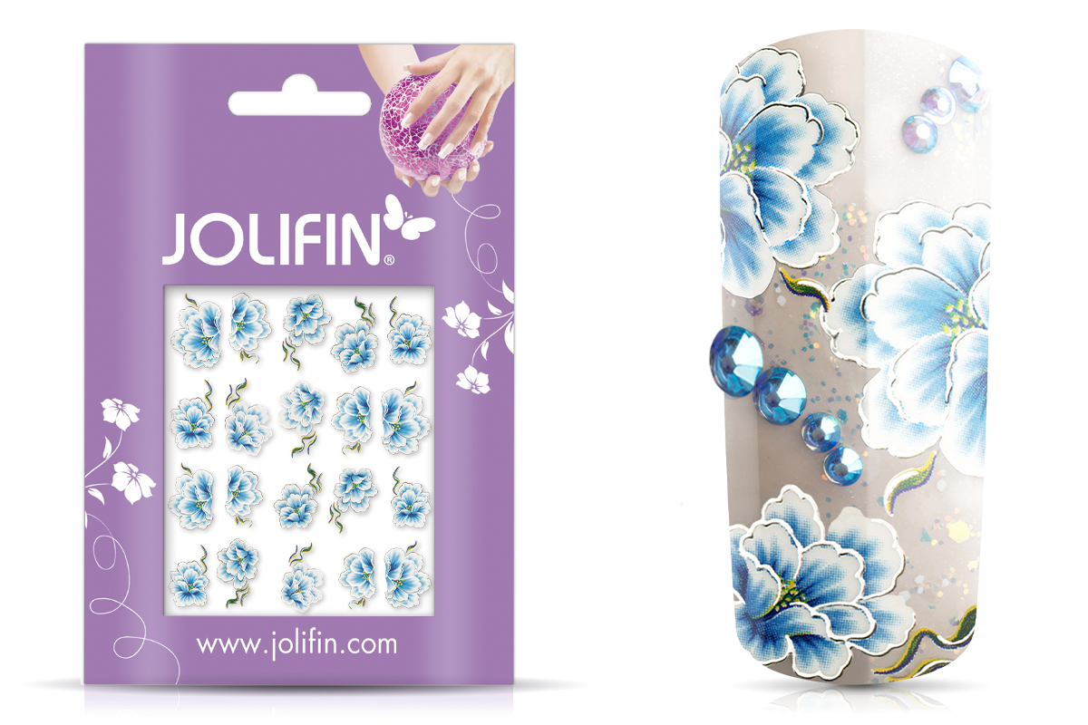 Jolifin Airbrush Tattoo silver Nr. 3