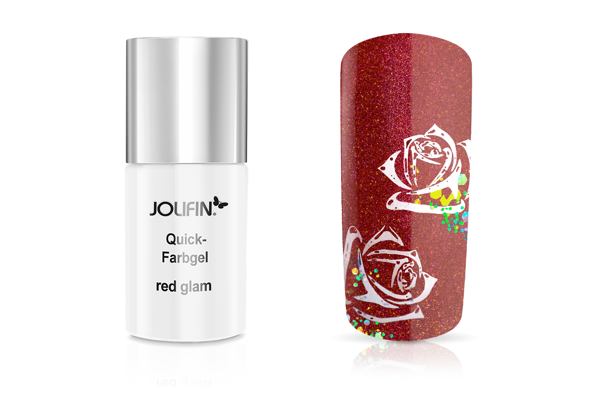 Jolifin Quick-Farbgel red glam 11ml