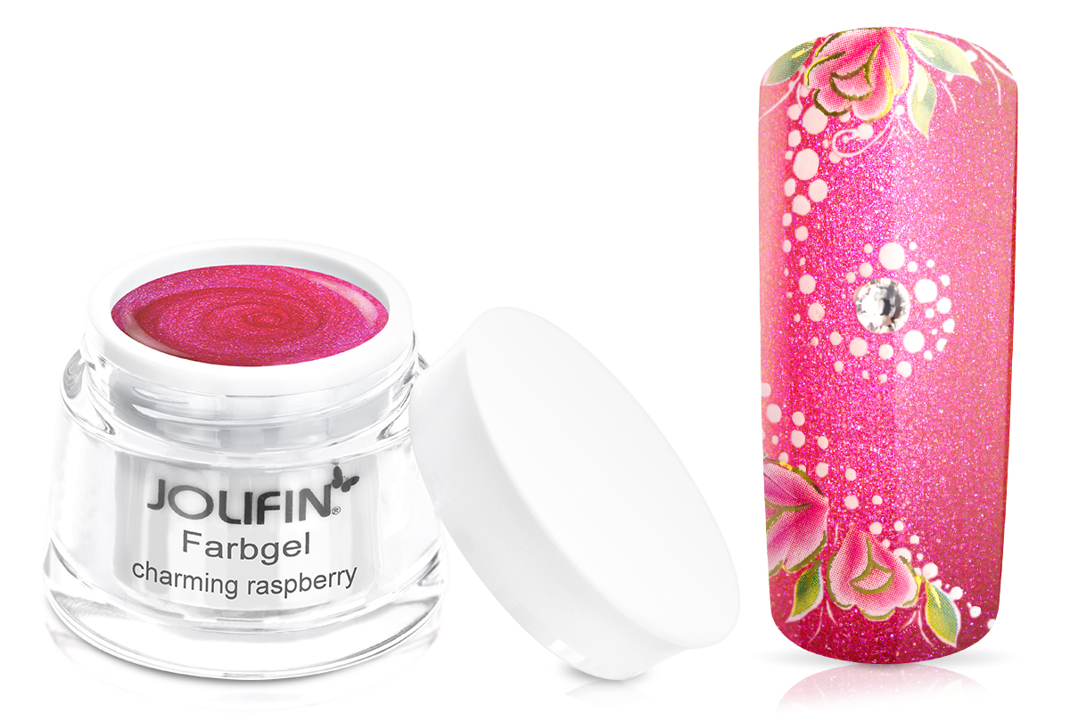 Jolifin Farbgel charming raspberry 5ml
