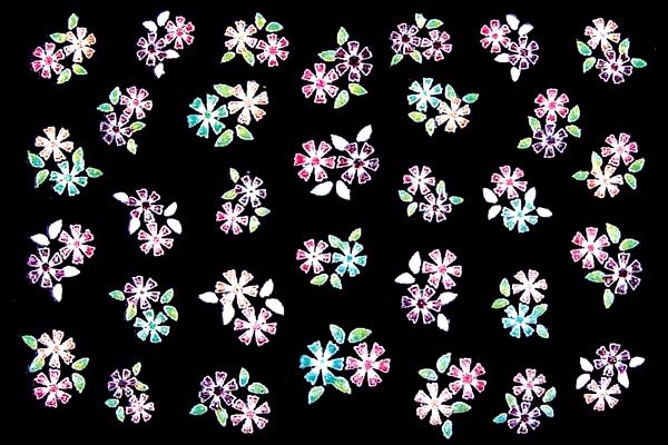 3D-Sticker Flowers