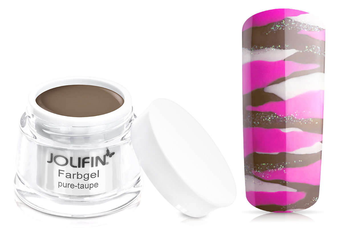 Jolifin Farbgel pure-taupe 5ml
